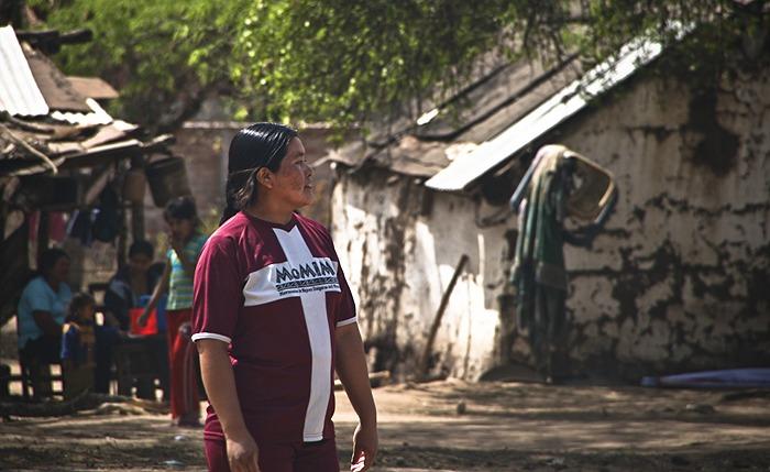 Mujer guaraní