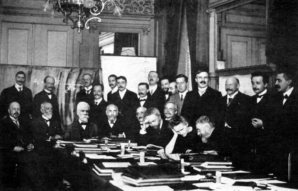 Marie Curie Solvay