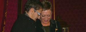 Enlace entre Guillermina y Estela, una de las primeras mujeres en casarse en Galicia en 2005