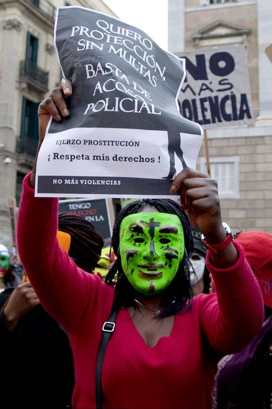 prostitutas por la calle colectivos de prostitutas