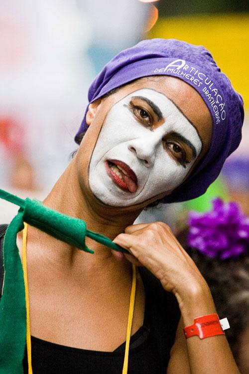 Feministas en Río. J. Marcos