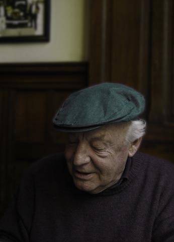 Eduardo Galeano entrevistado para Pikara./ Alma Rodríguez