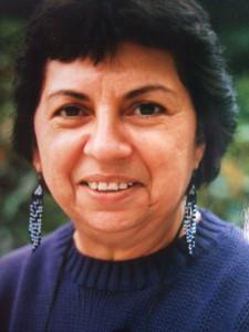 Gloria Anzaldua- Fotografía de K. Kendall