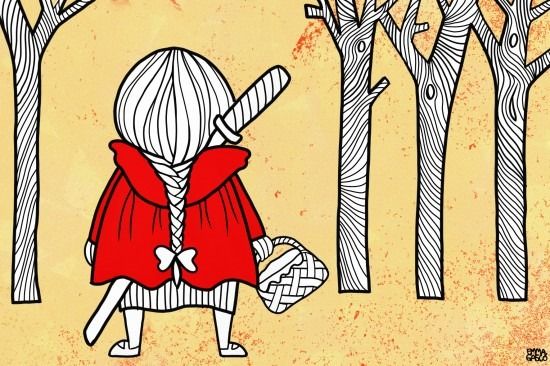 Caperucita roja con katana ,¿Qué es Pikara Magazine?, periodismo feminista