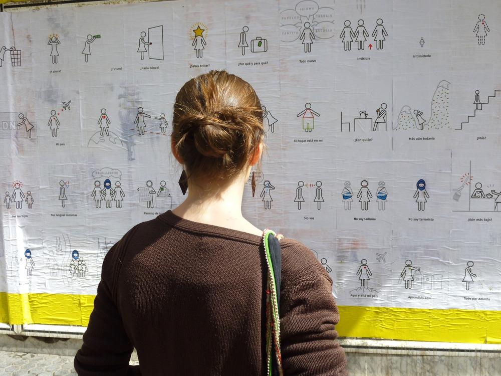 Acción urbana, proyecto Sevilla Plural, festival Zemos98, Sevilla 2010.