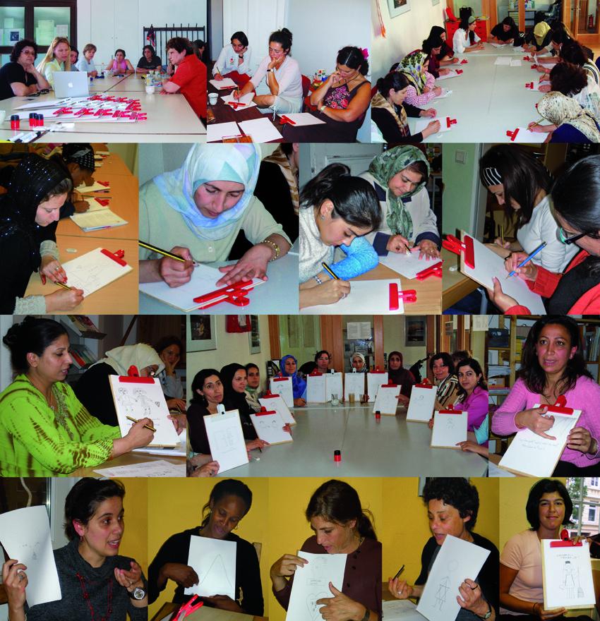 Participantes en distintos talleres de los últimos 5 años