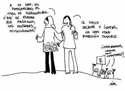 Isa Diagonal islamofobia
