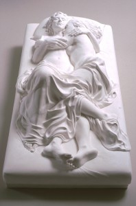 Memorial to a marriage. Patricia Cronin. 2000/2009. Escultura en mármol de Carrara.