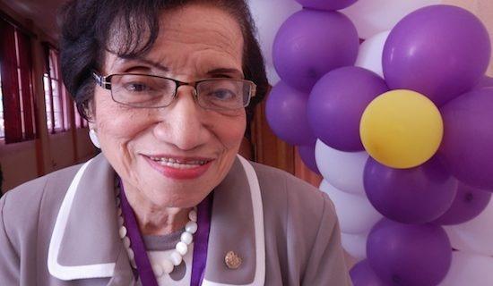 María Isabel Rodríguez. Ministra de Salud de El Salvador