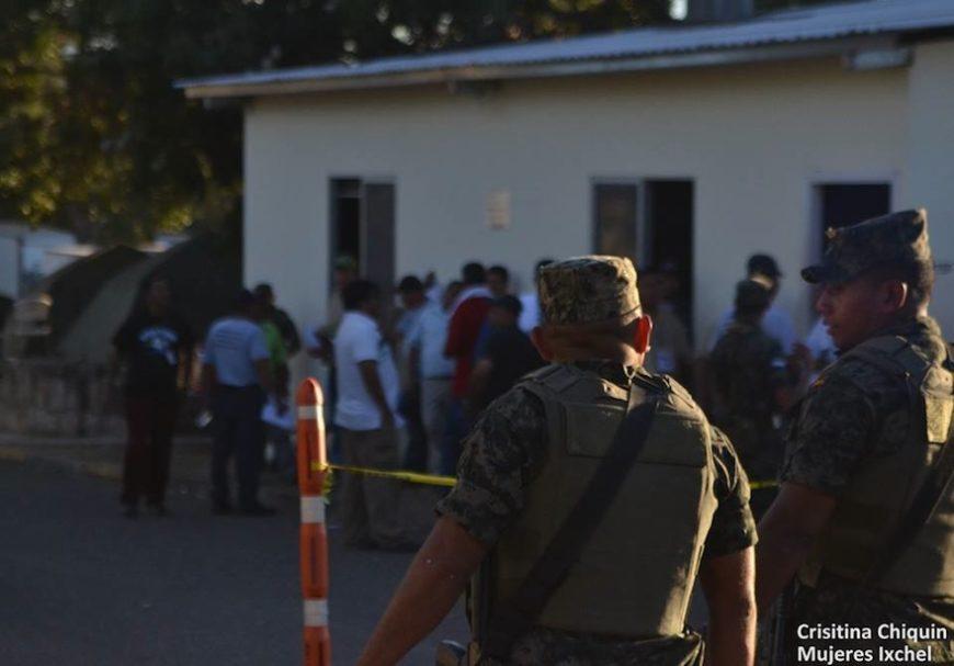 Militarización Honduras