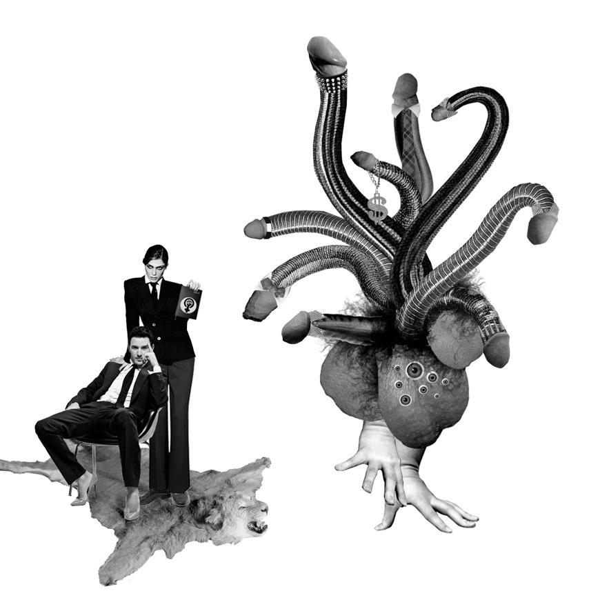 Ilustración de Señora Milton