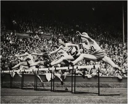 Final 80 metros vallas JJOO Londres 1948
