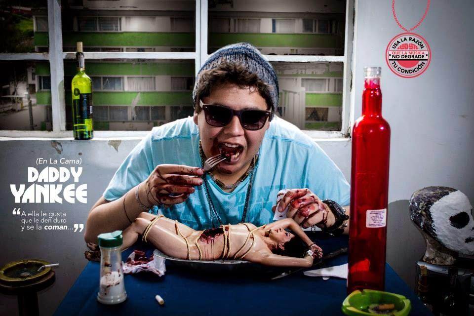 Imagen de la campaña 'Usa la razón, que la música no degrade tu condición'