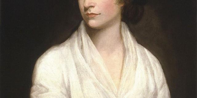 Mary Wollstonecraft, retratada por John Opie en 1797