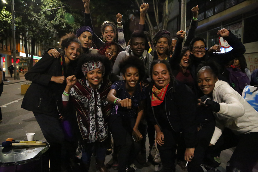 ina riaskov & rotmi enciso, Producciones y Milagros Agrupación Feminista