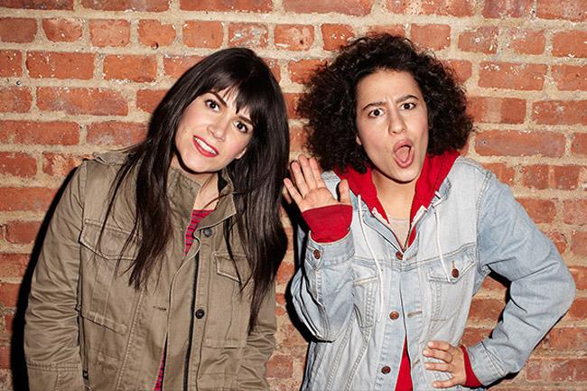 Abbi Jacobson e Ilana Glazer, creadoras y protagonistas de Broad City