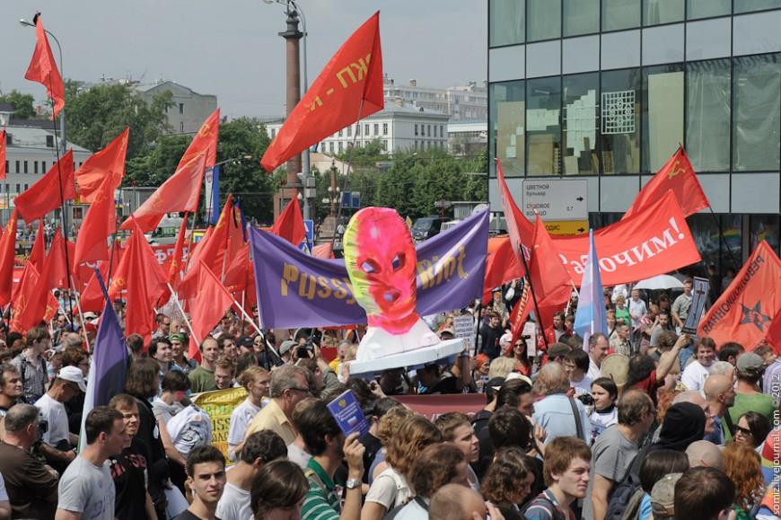 ¿Qué ocurriría con los feminismos más irreverentes y con las manifestaciones incómodas en una cultura de la corrección política?/ Evgeniy Isaev