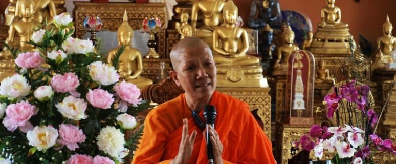"""""""Nunca me he sentido una rebelde. Yo solo respeto a Buda y lo que representa"""", dice la abadesa./ C.E.L."""