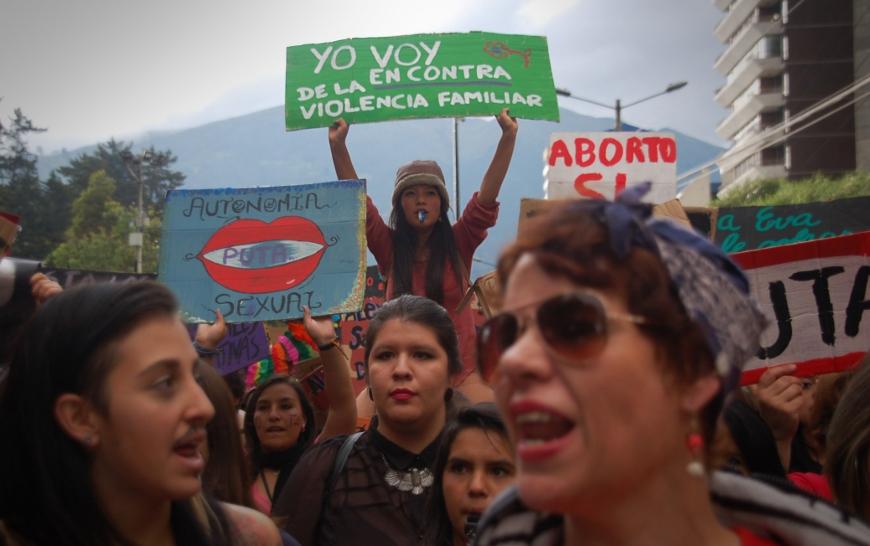 """""""Yo estoy en contra de la violencia familiar"""""""