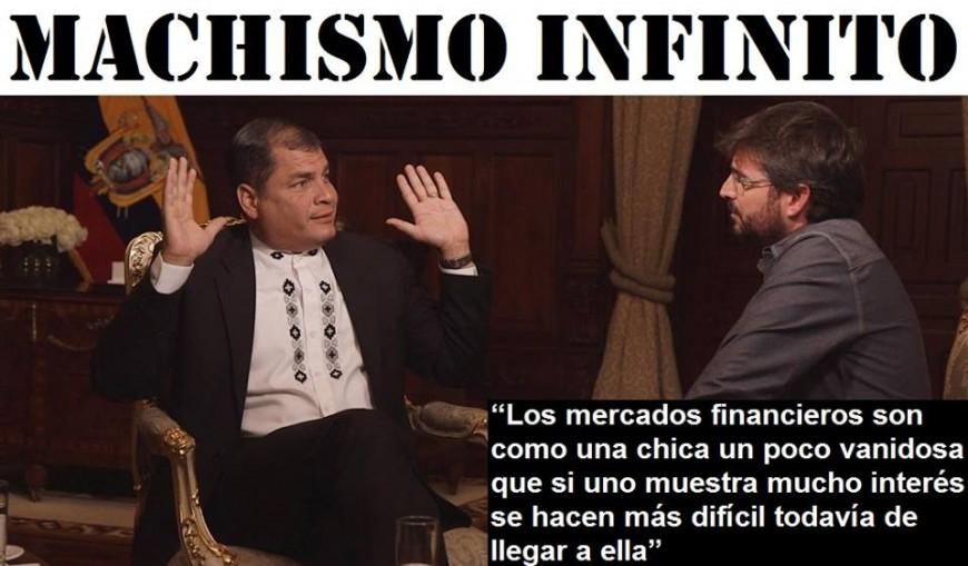 Meme de Ecuador Etxea por las declaraciones de Correa en Salvados.