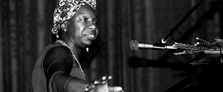Nina Simone en 1982, durante un concierto en Francia./ Roland Godefroy