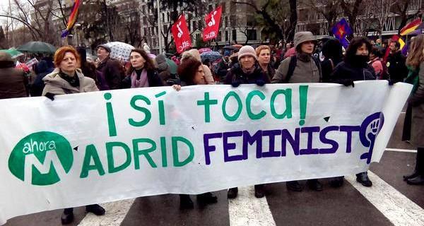 Ahora Madrid Feminismos