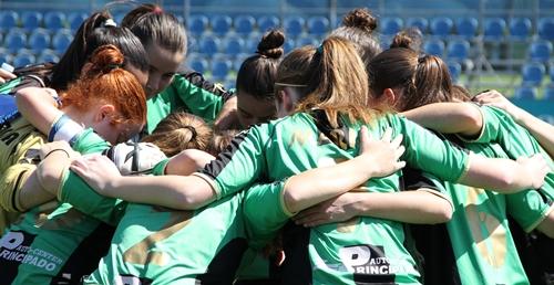 El Oviedo Moderno, el equipo con mayor cantera femenina del noroeste de España.