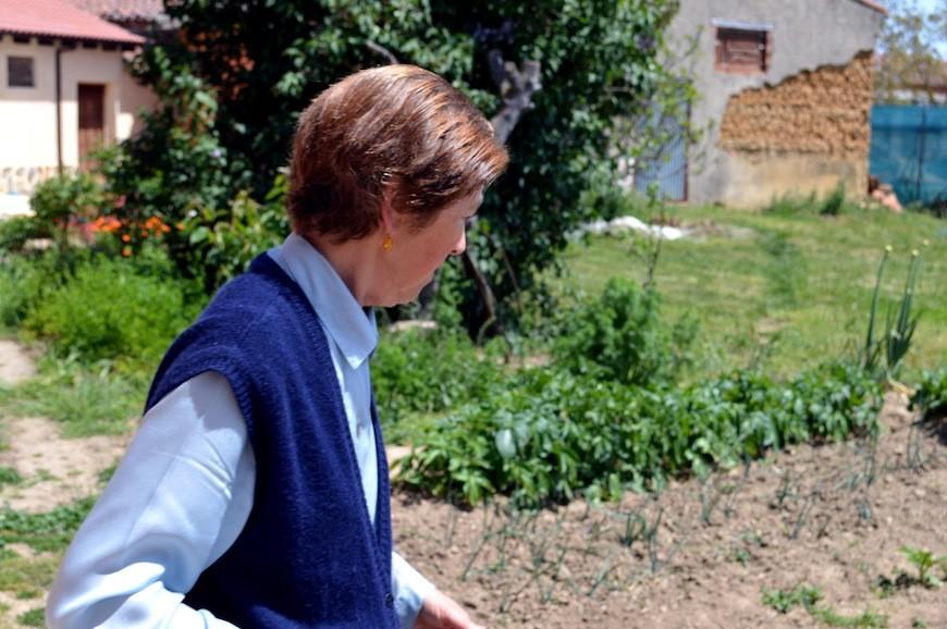 """Teonila disfruta en el campo: """"Me quedo embelesada mirando los trigos, viendo el maíz, observando cómo se trabaja ahora..."""""""