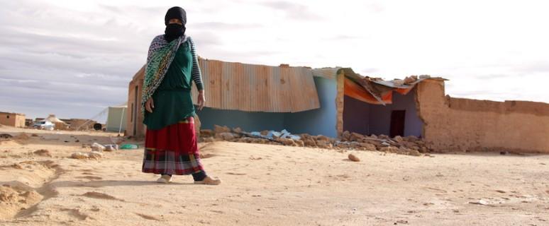 Los campamentos saharauis se derrumban, pero la resistencia continuará para conseguir la autodeterminación./Saharawi Voice.