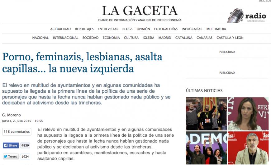 Feminazis, lesbianas...