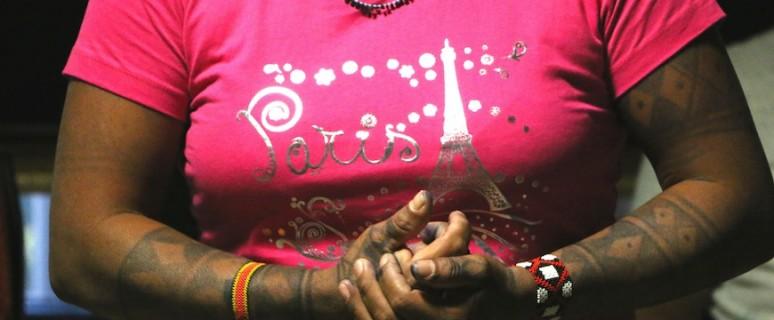 """Maira Leusa, indígena Munduruku afectada por la construcción de una represa en Brasil: """"El gobierno nos engaña y estamos en París para luchar"""""""