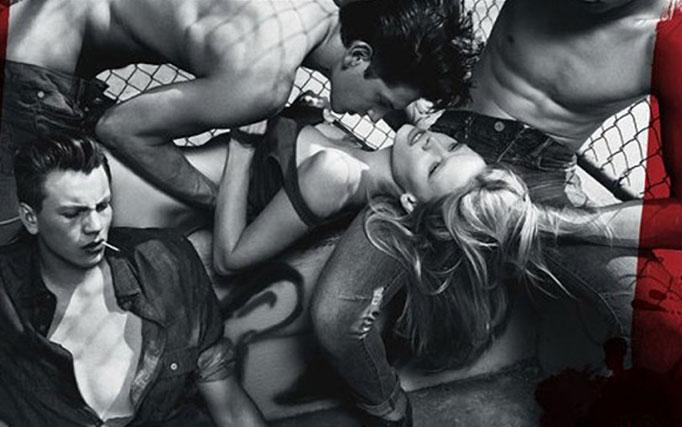 Anuncio de Calvin Klein denunciado por banalizar la violencia sexual.