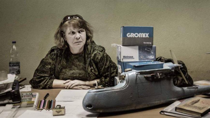 Tatiana al cuarter d'Alchevsk  / Comitatto per il Donbass Antinazista