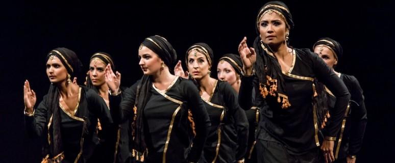 La obra de danza 'Soy Chitrangada', basada en un texto de Khalil Gibran./ Foto de Naqash para Nupura
