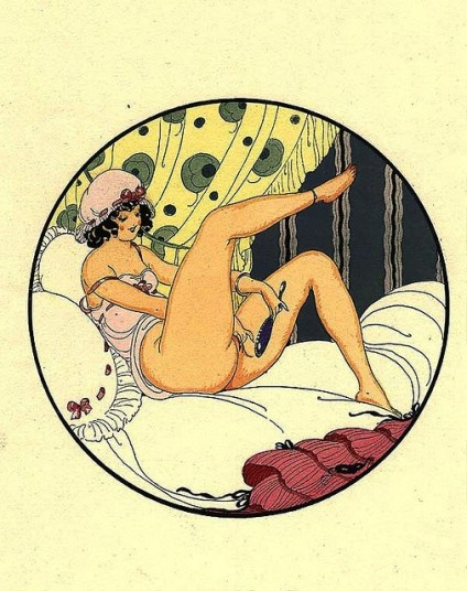 Ilustraciones de 'Doce sonetos lascivos'