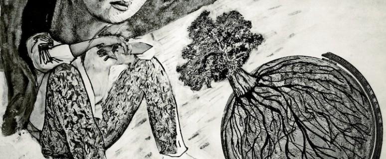 Ilustración de Javier Muñoz para la revista Papeles