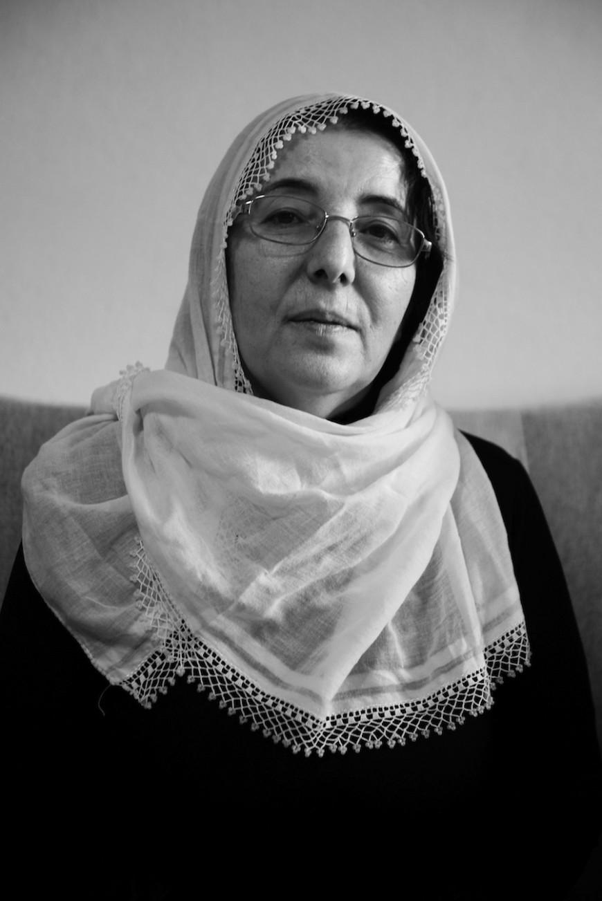 Cemile Akgun en la sede de las Madres por la Paz en Estambul. Enero 2016.  © Judith Prat