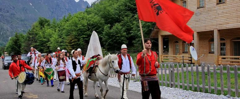 Ceremonia de matrimonio en Valbonë, al norte de Albania./ Shkelzen Rexha Gjakovë