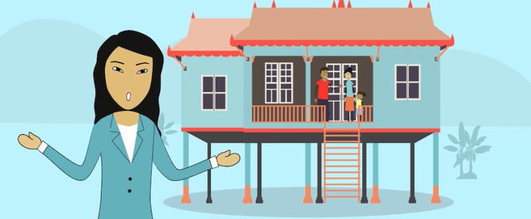Una de las animaciones de la aplicación diseñada por Sum Dany