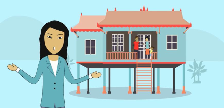 Una de las animaciones de la aplicación diseñada por Dany Sum