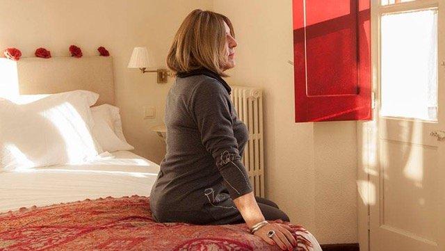Júlia Justinne, una de las protagonistas del documental