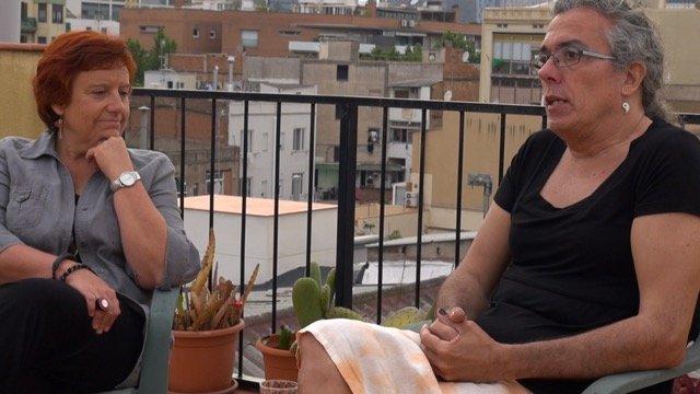 """Desde que Xesca explicó a Carme que """"se vestía"""", este matrimonio hace activismo"""