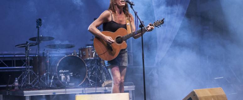 Alicia Ramos en una actuación - Juan Zarza/DISOPresS