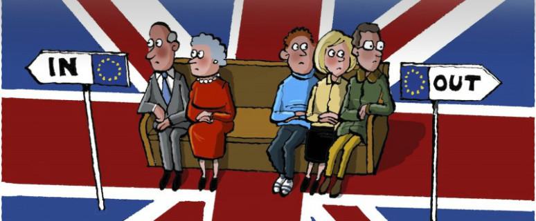 Una de las viñetas sobre el Brexit que señalan la influencia de la clase social en el voto. En ninguna web se cita la autoría. ¿Alguien sabe quién es el o la dibujante?