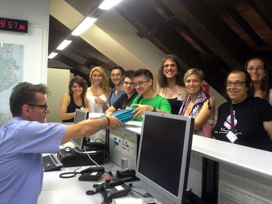 Portavoces de la plataforma Trans*forma la Salut  se han reunido con la presidenta del Parlament catalán y han registrado una queja 'ha registrat una queja contra la discriminación y la vulenración de los derechos sanitarios de las personas trans