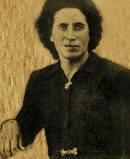 Retrato de 'La Pastora' de joven