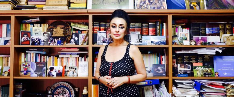 Eren Keskin, abogada, defensora de los derechos humanos y de las mujeres retenida en Turquía./ Lucía Muñoz