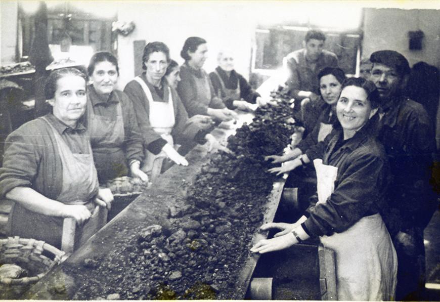 Imagen del Archivo el Museo de la Minería del País Vasco y del Archivo Municipal de Fotografías del Ayuntamiento de Muskiz.