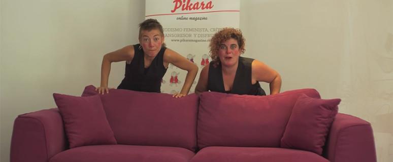 Elba Ruíz Morales y Zahira Montalvo Herrero visitaron la redacción de Pikara Magazine