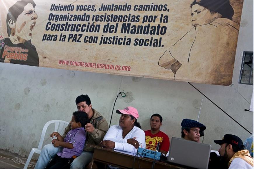 Foto de Archivo de un Congreso por la Paz celebrado en Popayán./ J. Marcos